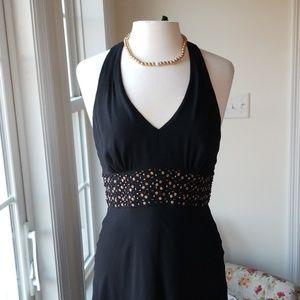 Jones NY Halter Style Cocktail Dress